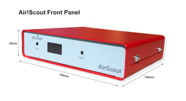 Air!Scout front panel